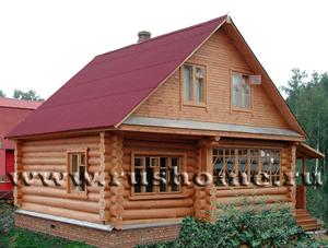 Проект 12П-100К (Дом 8х9 каркасный, толщина каркаса 100мм) Межкомнатные двери: филенчатые деревянные.