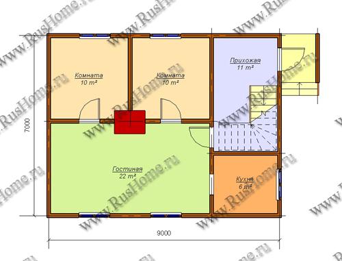 Дизайны домов обшитых сайдингом