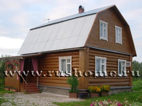 Дизайн домов с мансардой фото внутри
