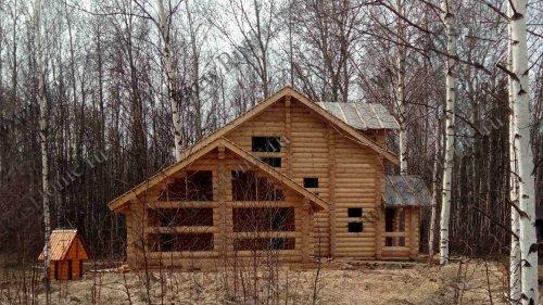 Гарантия на дом из оцилиндрованного бревна после первого этапа строительства