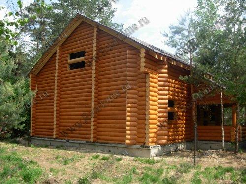 Дома из оцилиндрованного кедра