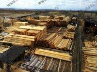 Производство домов и бань из оцилиндрованного бревна