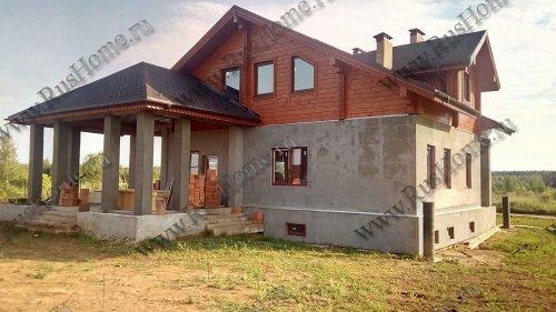 Проектирование домов из камня и бруса