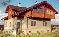 Проектирование комбинированных домов. Бесплатное 3D проектирование