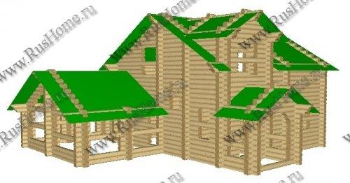 Проектирование деревянных домов оцилиндрованное бревно
