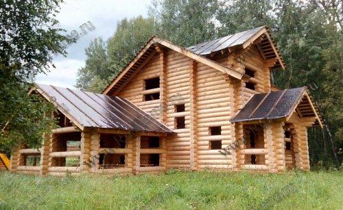 Проекты домов из оцилиндрованного бревна под ключ
