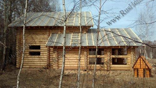Проектирование деревянных домов оцилиндрованное бревно брус