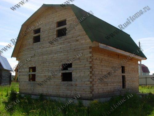 Дом из бруса гарантия на первом этапе строительства – 1 год